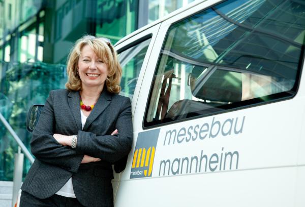 Karin Bühler Geschäftsführerin mg messebau gmbh