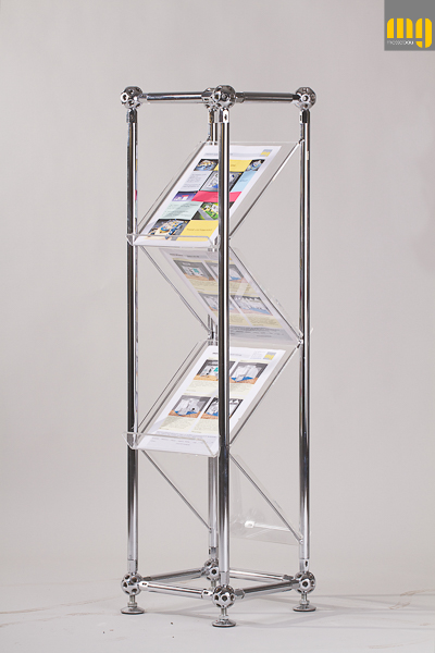 Brochure-rack DUO single (meroform)